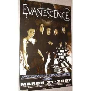 Evanescence Poster   Fallen the Open Door: Home & Kitchen