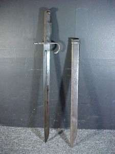 Very Nice WWII Japanese Nagoya Type 30 Hooked Quillon Bayonet w