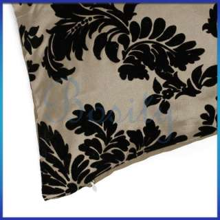 17 x 17 inch Floral Leaves Throw Pillow Case Cushion Cover Pillow Slip