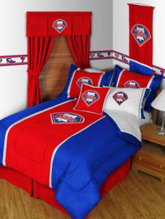 MLB PHILADELPHIA PHILLIES Full Queen Bed COMFORTER SET