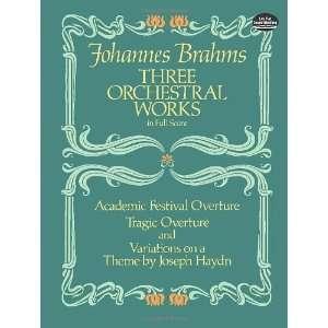 Haydn (Dover Music Scores) (9780486246376) Johannes Brahms, Music