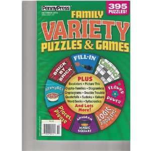 (Family Variety Puzzles & Games, October 2010) various Books