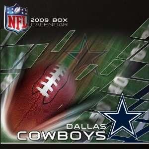 Dallas Cowboys 2009 Box Calendar: Sports & Outdoors