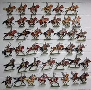 LOT WWI GERMAN CAVALRY ARMY * TIN TOY SOLDIERS FIGURES PEWTER ANTIQUE