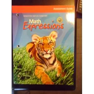 Math Expressions, Grade 2 Assessment Guide: Houghton