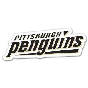 Pittsburgh Penguins NHL Hockey bumper sticker 7 x 3