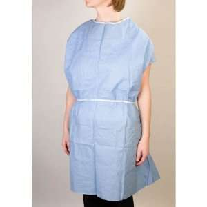 Graham Medical Products Exam Gowns 30 X 45 Scrim reinforced Blue
