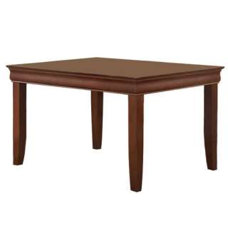 60 in. Rectangular Solid Wood Dining Table with rich Mahogany