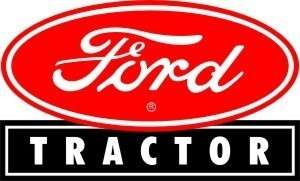 Vintage Ford Tractor sticker decal sign 4x2.4