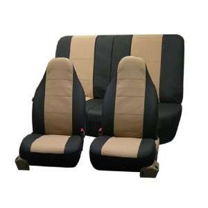 FH PU006112 Triad Synthetic Leather Car Seat Covers, Airbag Ready and