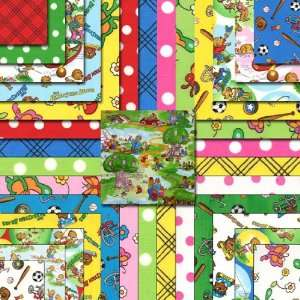 COUNTRY Jelly Roll 2.5 Quilting Fabric Strips 55500JR Home & Kitchen