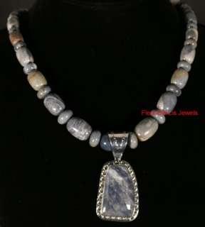 Jay King MINE FINDS USA Blue Jasper Necklace Pendant