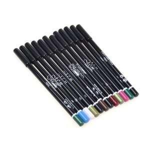 Waterproof Makeup Eye Lip Liner Pencil Eyebrow Eyeliner Set Beauty