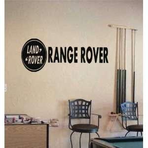 GARAGE RANGE ROVER EMBLEM LOGO DECAL STICKER ART 21 Home