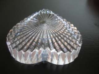 Waterford Crystal Heart Shaped Paperweight