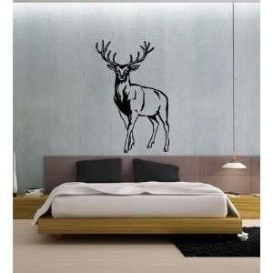 Mural Kids Room Wild Animals Deer Buck Elk Hunting A12