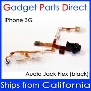iPhone 3g 3gs Audio Headphone Power Switch Cable Flex