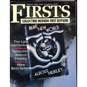 Firsts The Book Collectors Magazine, September 1994