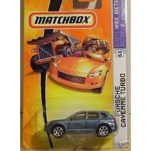 Matchbox #61 Porsche Cayenne Turbo 1:64: Toys & Games