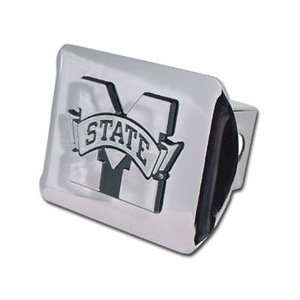 Mississippi State Bulldogs Chrome Trailer Hitch Cover Automotive