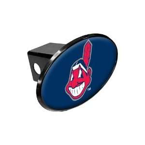 Cleveland INDIANS MLB Trailer Hitch Cover Automotive