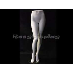 (MD FL6) Fiberglass Female Legs Mannequin + Metal Base