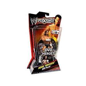 Mattel WWE Wrestling FlexForce Exclusive DVD Heroes Series