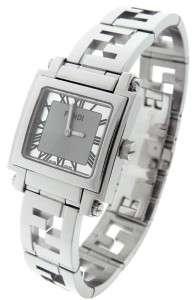 Authentic Ladies Fendi Orologi Silver Dial Quartz Watch