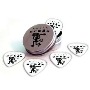 Keith Urban Logo Electric Guitar Picks X 5 (2 Sided Print