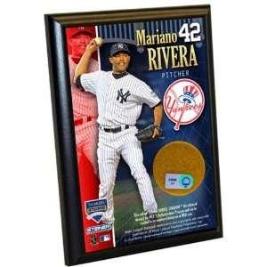 Mariano Rivera Yankees 4x6 Dirt Plaque
