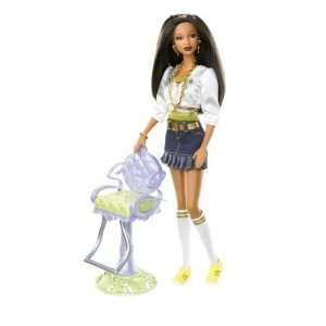 Barbie So In Style Stylin Hair Trichelle Doll Toys & Games