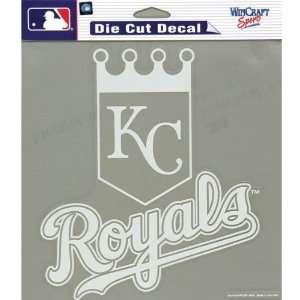 Kansas City Royals   Logo Cut Out Decal MLB Pro Baseball