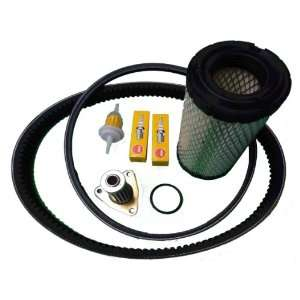 EZGO TXT/ST 350 Gas Golf Cart Tune Up Kit (96+) w/ Oil Filter