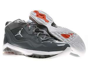 Nike Air Jordan Melo M8 Cool Grey/White Orange Mens Basketball Shoes