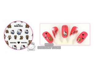 Hello Kitty Nail Art Stickers  Bear