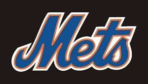 New York Mets Logo Sticker Decal 3 #44a