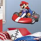 nintendo super mario kart peel stick giant wall decal 781slm