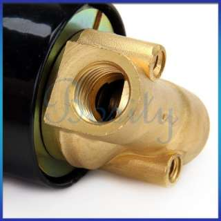 DC 12V 1/4 Inch Electric Solenoid Valve for Air Water