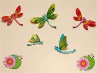 Childrens/Girls/Kids Bedroom BUTTERFLY/DRAGONFLY Wall Stickers
