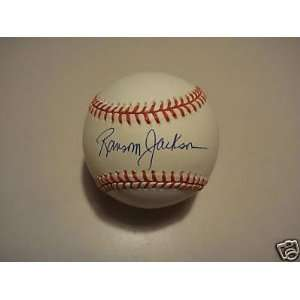 Ransom Jackson Brooklyn Dodgers Signed Official Ml Ball