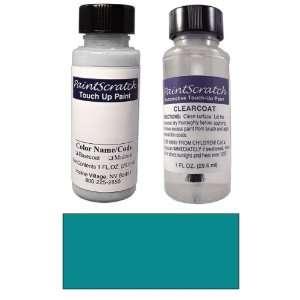 1 Oz. Cyclone (Grayish) Blue Metallic Paint Bottle Kit for