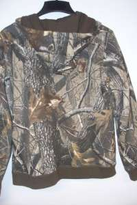 Dri Duck For Her Hooded Coat Realtree Hardwoods Camo w/gloves
