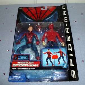 Spiderman Movie Series 3 Wrestler Spider man Action Figure Toy Biz