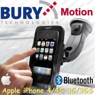 Bury Motion Bluetooth Hands Free Car Kit iPhone 4 3GS
