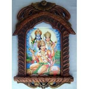 Pawan Putra Hanuman Singing & doing meditation of Sita & Ram weapon