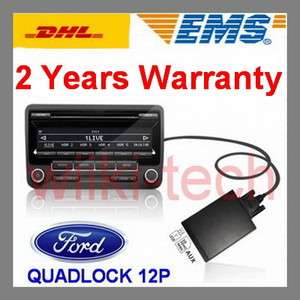 Car CD Changer USB/SD AUX INPUT ADAPTER   FORD QUADLOCK 12P 5000C