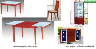 6016 DINING room SET TABLE with 4 CHAIRS