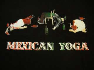 Mexican Yoga t shirt men XXL* funny perfect gift new