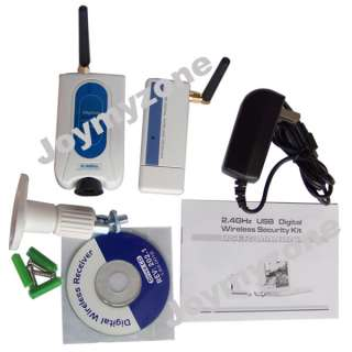 Digital Wireless Camera Kit Home Security DVR System