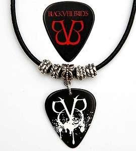 Black Veil Brides Black Leather Necklace Plus Pick
